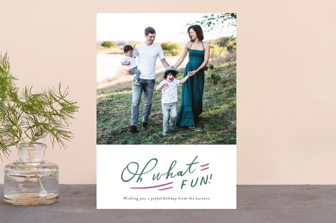 Oh So Much Fun Holiday Photo Cards