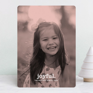 Merry Monochrome Holiday Photo Cards