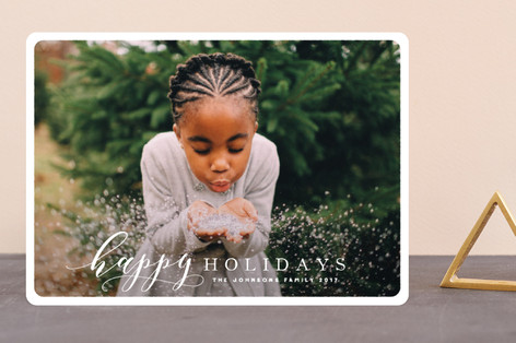Thoughtful Holiday Photo Cards