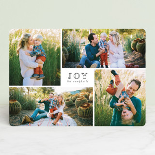 Much Joy Holiday Photo Cards