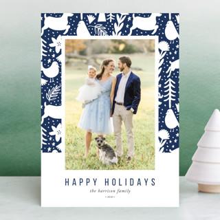 Scandi Holiday Holiday Photo Cards