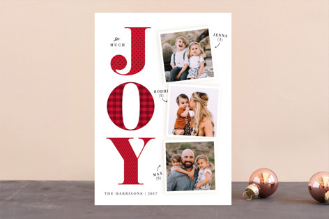 Biggest Joy Holiday Photo Cards
