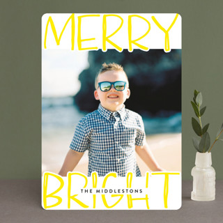 Very Merry Bright Holiday Photo Cards