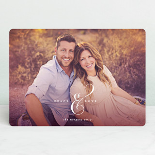 Ampersand Holiday Photo Cards