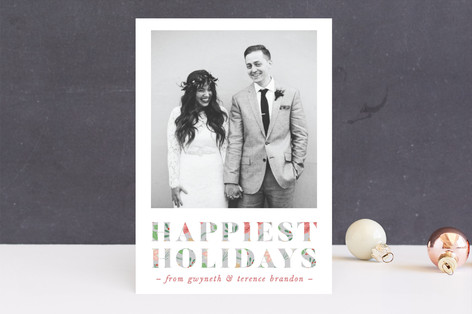 Halcyon Days Holiday Photo Cards
