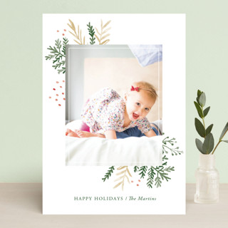 Wintertide Holiday Photo Cards