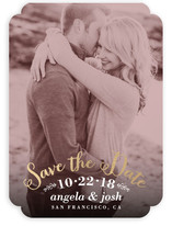 Photogenic Foil-Pressed Save The Date Cards