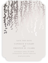 Cascade Foil-Pressed Save The Date Cards