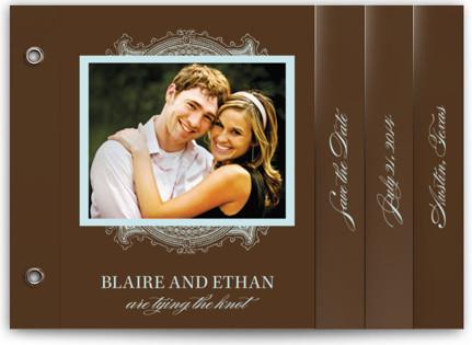 Ornate Save The Date Minibooks