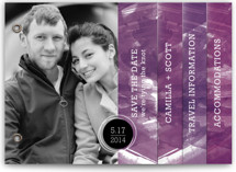 Aurora Save the Date Minibook™ Cards