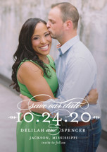 Classically Save the Date Petite Cards