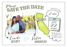 Write It In Ink Save the Date Petite Cards