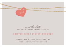 Tangled Love Save the Date Petite Cards