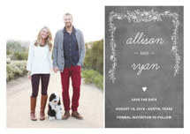 Chalkboard Save the Date Petite Cards