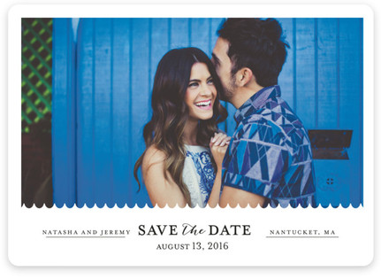 Shore Thing Save the Date Magnets
