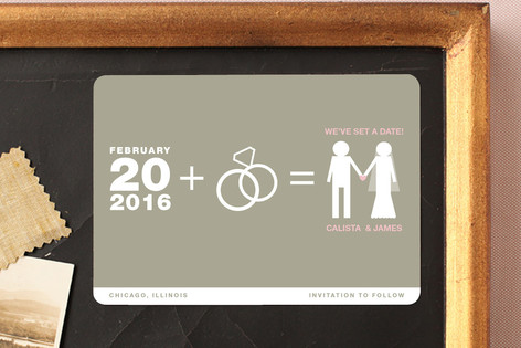 Matrimony Save The Date Magnets
