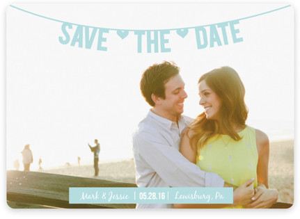 Banner Save the Date Magnets