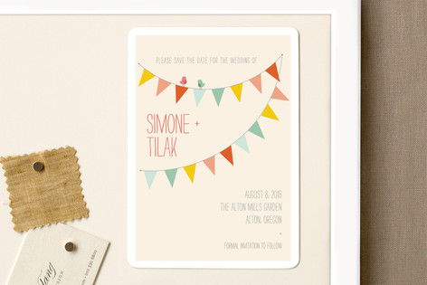 Barn Party Save The Date Magnets