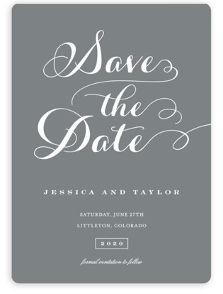 Just Lovely Save the Date Magnets