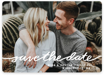 Stringed Save the Date Magnets