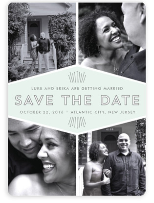 Mod Deco Save the Date Magnets