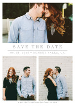 The Simple Things Save the Date Postcards