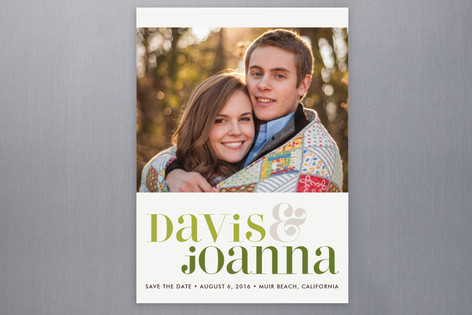 Love Lettered Save The Date Postcards