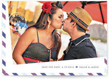 Going Postal Save The Date Postcards
