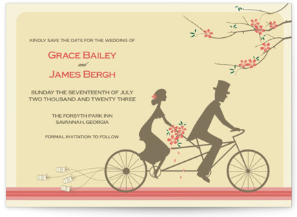 Journey Together Save the Date Postcards