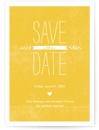 Quite Simply Save the Date Postcards