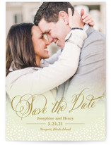 Baby's Breath Save The Date Cards