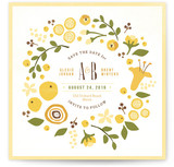 Summer Celandine Save The Date Cards