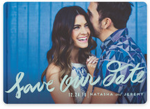 Penned In Save the Date Cards