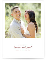 Pure Simplicity Save the Date Cards