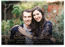 Romantic Frame Save The Date Cards