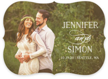 Sunshine Of Your Love Save The Date Cards