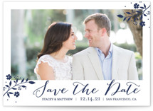 Branch Foil Save The Date Cards