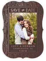 Golden Grain Save the Date Cards