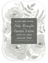 Watercolor Floral Save The Date Cards