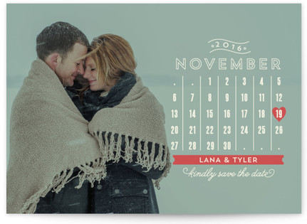 Chic Calendar Save the Date...
