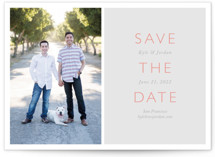 Modern Date Save The Date Cards