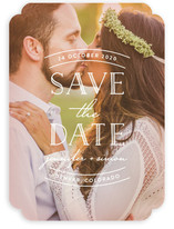Sweet Embrace Save The Date Cards
