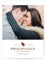 Change of Season Save The Date Cards