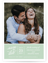 Sweet & Modern Save The Date Cards