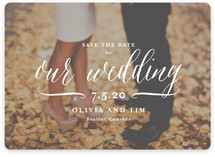 Postcard Perfect Save The Date Cards