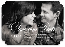 Aligned Save The Date Cards