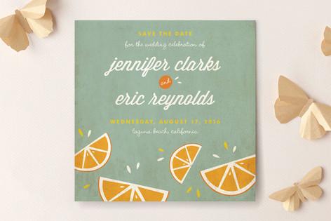 Citrus Lovin' Save The Date Cards