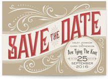 Good Ol' Fashion Love Save the Date Cards