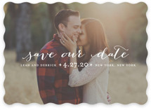 Meet in the Middle Save The Date Cards