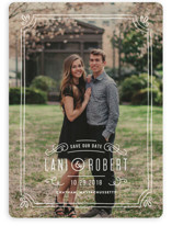 Hand-Drawn Frame Save The Date Cards